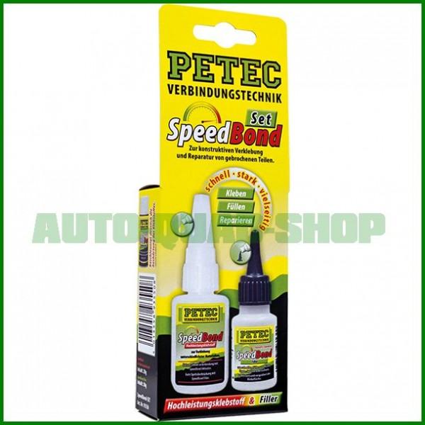 Speedbond-Set - Hochleistungsklebstoff - Petec